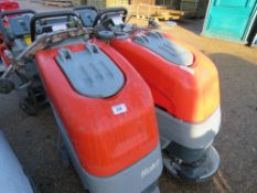 2 X HAKO HAKOMATIC B30 SCRUBBER FLOOR CLEANERS, SPECIAL NOTE: NO BATTERIES. MAY BE INCOMPLETE.