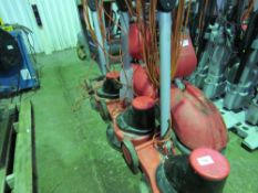 3 X 400 TYPE FLOOR POLISHERS.. SOURCED FROM SITE CLEARANCE..CONDITION UNKNOWN This item is being
