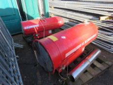 2 X Arcotherm greenhouse heaters This items is being item sold under AMS…no vat will be on charged