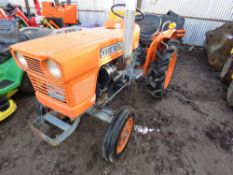 KUBOTA L1501 2WD COMPACT TRACTOR SN;115556 This item is being item sold under AMS…no vat will be