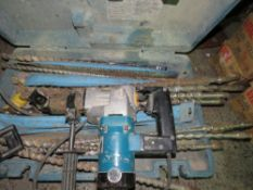 Makita 110v medium drill c/w bits This item is being item sold under AMS…no vat will be on charged