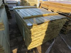1 X PACK OF SHIPLAP CLADDING TIMBER 1.73M X 10CM WIDTH APPROX