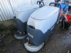 2 X NILFISK BA531 SCRUBBER FLOOR CLEANERS, SPECIAL NOTE: NO BATTERIES. MAY BE INCOMPLETE.