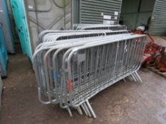 23 X SMARTWELD METAL CROWD BARRIERS This item is being item sold under AMS…no vat will be on charged