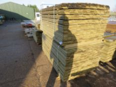 2 X PACKS OF SHIPLAP CLADDING TIMBER 1.73M X 10CM WIDTH APPROX