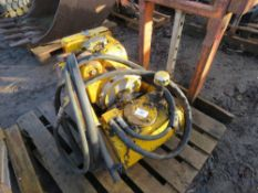 Hydraulic power pack This item is being item sold under AMS…no vat will be on charged on the