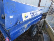 Site towed Western single axled fuel bowser