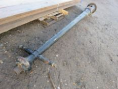 CAST IRON LAMP POST CIRCA 12FT HEIGHT This items is being item sold under AMS…no vat will be on