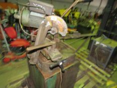 Metal cutting saw, 3-phase This item is being item sold under AMS…no vat will be on charged on the
