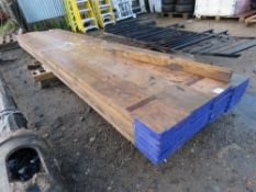 20 X SCAFFOLD BOARDS, 12FT LENGTH APPROX This items is being item sold under AMS…no vat will be on