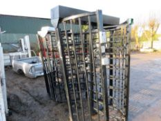 2no. Steel turnstiles. This item is being item sold under AMS…no vat will be on charged on the