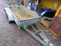INDESPENSION CHALLENGER MINI DIGGER TRAILER, RING HITCH FITTED This item is being item sold under