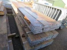 60 X GRADED PRE USED SCAFFOLD BOARDS, 13FT LENGTH APPROX This items is being item sold under AMS…