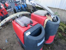 2 X CLEANFIX RA431 SCRUBBER FLOOR CLEANERS, SPECIAL NOTE: NO BATTERIES. MAY BE INCOMPLETE. CONDITION