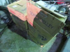 4 X 3tonne Geared trolleys