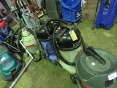 7 X ASSORTED VACUUM CLEANERS SOURCED FROM SITE CLEARANCE CONDITION UNKNOWN This item is being item