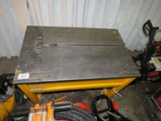 Strapex banding table