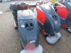 2 X CLEANFIX RA605 IBCT SCRUBBER FLOOR CLEANERS, SPECIAL NOTE: NO BATTERIES. MAY BE INCOMPLETE.