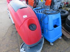 COMOC SCRUBBER PLUS GRACE INJECTION EXTRACTION MACHINE SPECIAL NOTE: NO BATTERIES. MAY BE