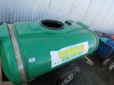 TOWED TRAILER ENGINEERING WATER BOWSER