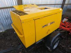 Arcgen Weldmaker 330SD welder generator 3986 REC HRS SN:301219 WHEN TESTED WAS SEEN TO RUN AND