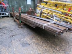 22 X ASSORTED LENGTH STEEL PILING SHEETS UP TO 13FT LENGTH This item is being item sold under AMS…no
