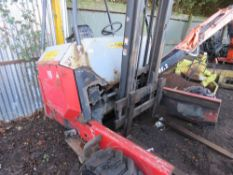 Palfinger Crayler piggy back forklift, 1770 rec.hrs, yr2003. Direct ex local company. WHEN TESTED