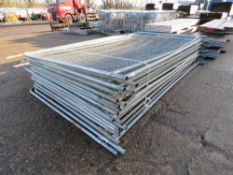 20 X HERAS TYPE TEMPORARY SITE PANELS This items is being item sold under AMS…no vat will be on