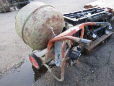Petrol engined mixer