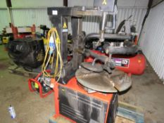SNAPON T3 SUPER TYRE REMOVING MACHINE 240V YEAR 2014