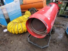 ARCOTHERM PHOEN/N GREENHOUSE HEATER C/W DUCTING TUBE