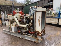 CUMMINS ENGINED 350KVA GENERATOR, EX AIRPORT STANDBY USE, HOURS WILL BE LOW, ALTHOUGH UNKNOWN.