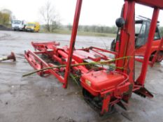 Edbro big hook equipment from 8-wheel lorry ASSISTANCE WITH LOADING ONTO A SUITABLE VEHICLE CAN BE