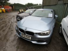 BMW 320D SE SALOON CAR, MANUAL, REG:KF14 KXE WITH V5, TESTED TILL 30/5/20 2 X KEYS, 118,647 REC