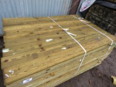 LARGE PACK OF FEATHER EDGE TIMBER CLADDING 1.5MX10CM APPROX.