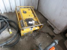 ARCGEN PETROL ENGINED WELDING PLANT CONDITION UNKNOWN, UNTESTED