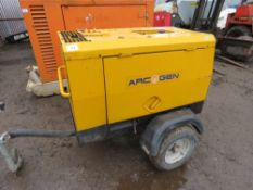 Arcgen 330SD towed welder WHEN TESTED WAS SEEN TO START AND RUN