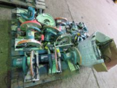 2no. Pallets of assorted power tools to include battery tools, circular saws and grinders. Untested,