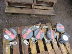6no. Fall arrestors, untested