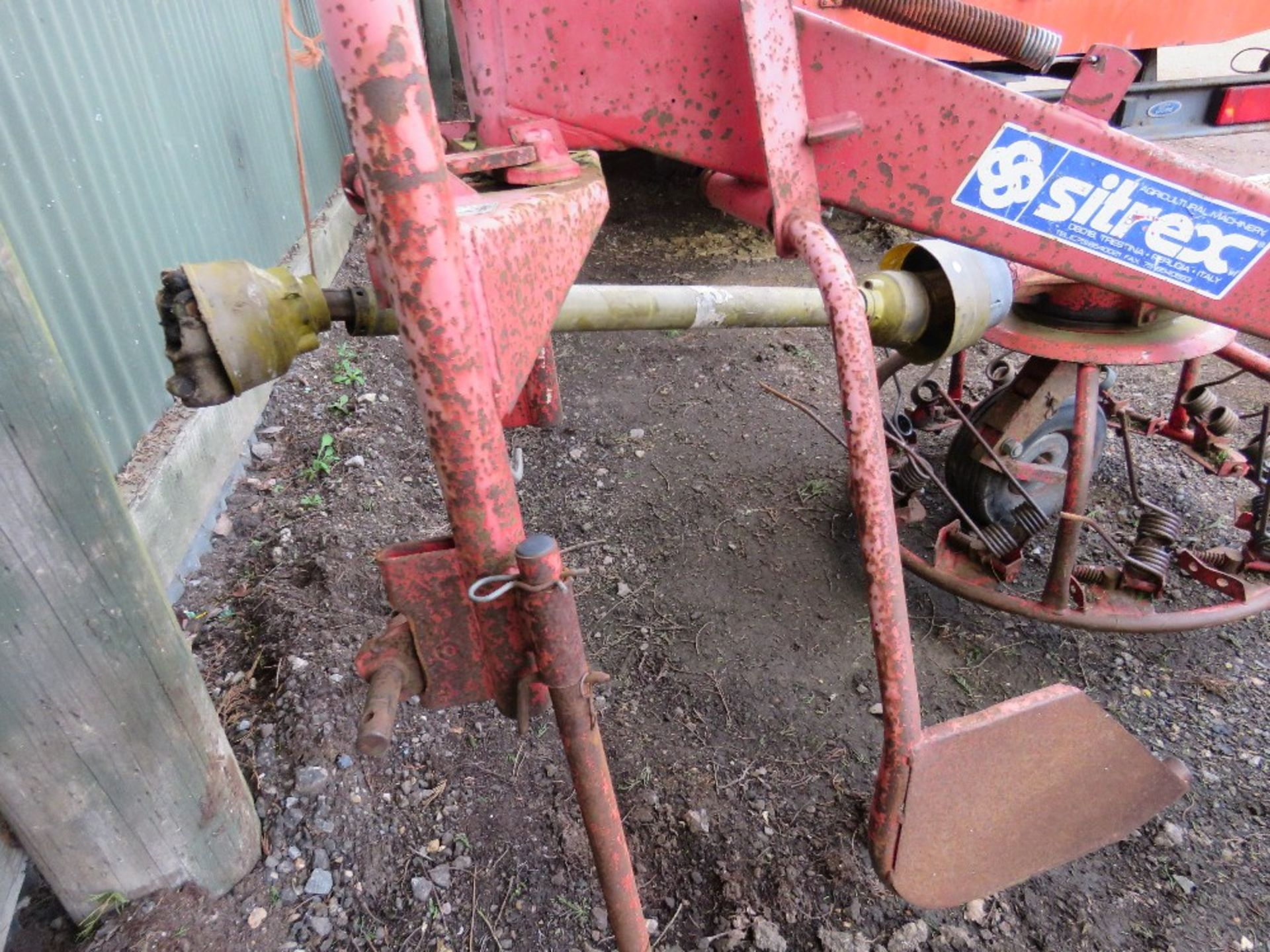 Lot 1734 - Sitrex tractor mounted hay turner