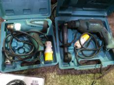 110v Makita drill plus heat gun