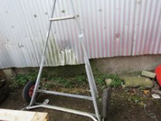 Small dinghy launching trolley