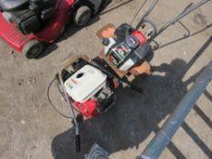 SMALL PETROL ROTORVATOR AND HONDA PETROL ENGINE