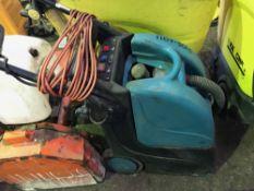 Hydromist carpet cleaning machine