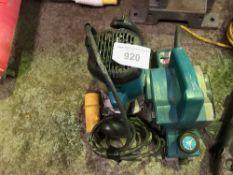 Router, sander and grinder