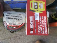Jump starter and jump leads