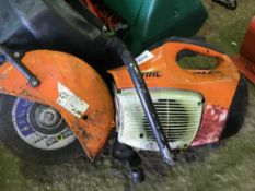 Stihl TS410 petrol saw