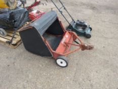 MOUNTFIELD TOWED GARDEN SWEEPER