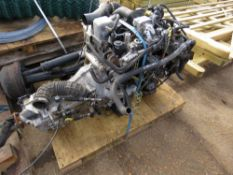 Nissan Cabstar 4-cylinder engine and gearbox, yr2006, running when removed