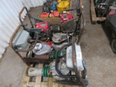 "5 X ASSORTED HONDA AND WACKER TRENCH COMPACTORS. FOR SPARES/REPAIR All items ""sold as seen"" or ""sold"